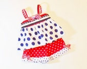 Girls 4TH of JULY Shorts OUTFIT Size 6mo to 4t Girls Patriotic  Summer Clothes 6mo 12mo 18mo 24mo 2t 3t 4t