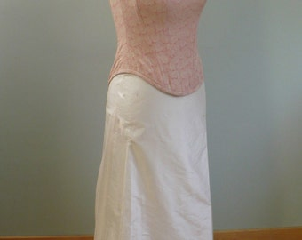 Bridal Gown, Bridal Dress, 2 Piece Corset and Skirt, Free Shipping