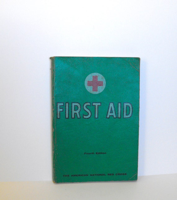 American Red Cross First Aid Book from 1957