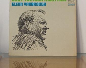 Glenn Yarbrough LP Baby The Rain Must Fall 1965 Vintage Record Album Vinyl RCA  Folk Pop Americana