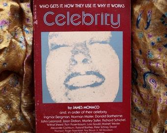 Celebrity James Monaco Media As Image Maker Icon Pop Star Television Music Delta Books 1978 1st Mailer Ephron