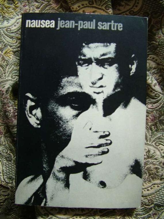 Jean-Paul Sartre Nausea Hayden Carruth 1969 New Directions Paperback Book 82 Gittleman Cover