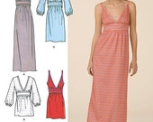 Simplicity Pattern 2587 Cynthia Rowley Misses' Dresses and Tunic Sizes 12-20 NEW