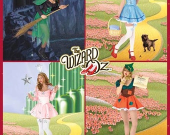 Simplicity Pattern 2546 Misses' Sexy Wizard of Oz Costumes Sizes 8-16 NEW