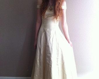 vintage gunne sax simple golden belle bridal gown- on sale