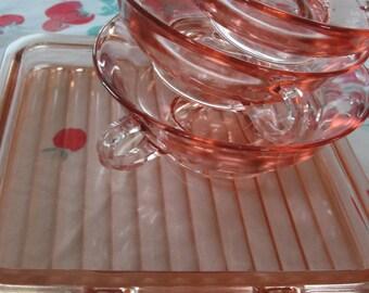 Tickled Pink Sweet dessert set
