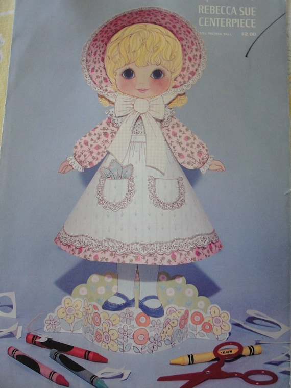 Vintage Hallmark  Rebecca Sue Centerpiece