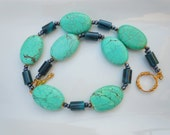Ocean Blue Turquoise Necklace  165