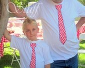 Croatian Tie Shirts for Adults and kids