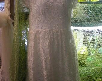 Vintage Lace Child's Dress