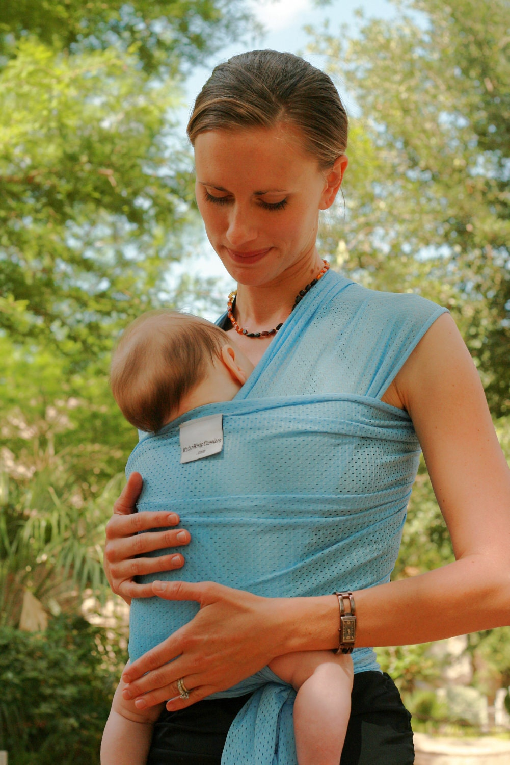 Beachfront Baby Wrap Carrier Water Babywearing By