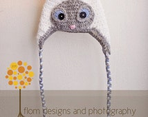 Crochet Siamese Cat Hat Pattern : Unique blue point siamese related items Etsy