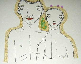 Everyday Greeting Card : Couple