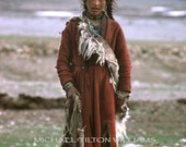 Young Woman, Zanskar,  Ultrachrome K3 Archival Print