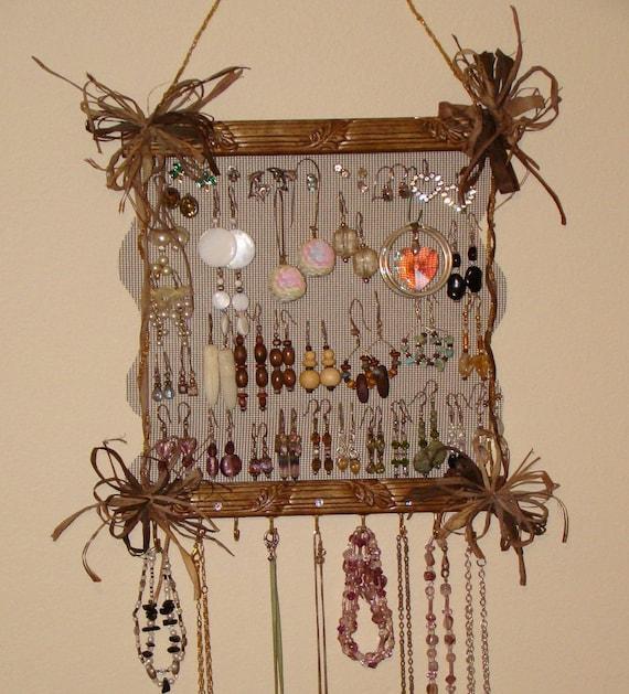On Sale  Jewelry Holder Display Organizer 'Short-n-Sweet'