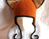 Fox Hat - Made to Order - Any Size