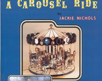 A Carousel Ride Stained Glass Pattern Book For US,  Australia, and other