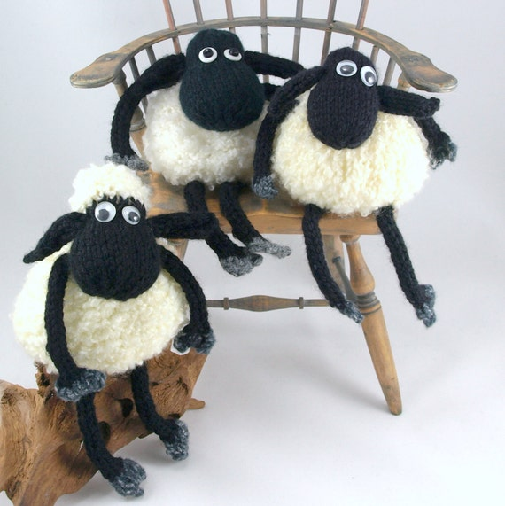 Baba the sheep pdf knitting pattern, instant download