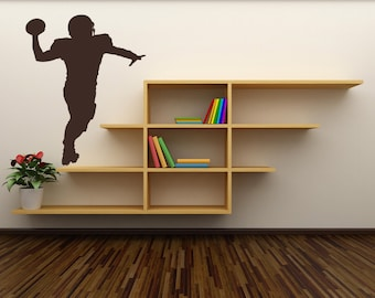 Sports Decor, Football Player, Football Decal, Football Decor, Football Decorations, Boys Room Decor, Sports Decal, Wall Decal, Home Decor