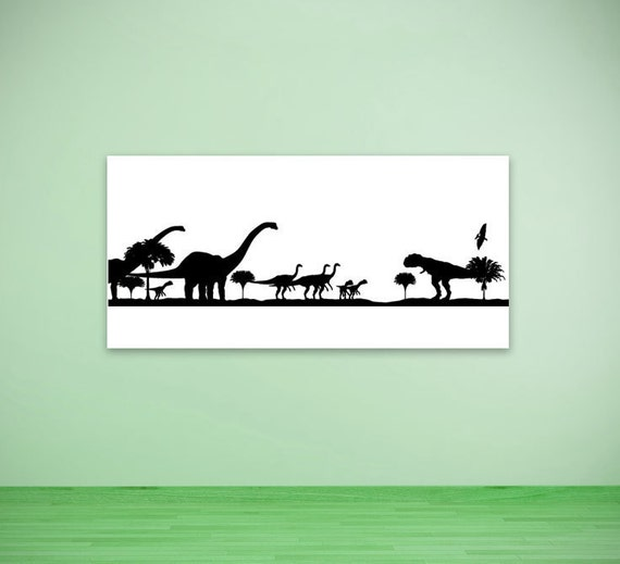 Dinosaur birthday party decorations long neck t rex for T rex bedroom decor
