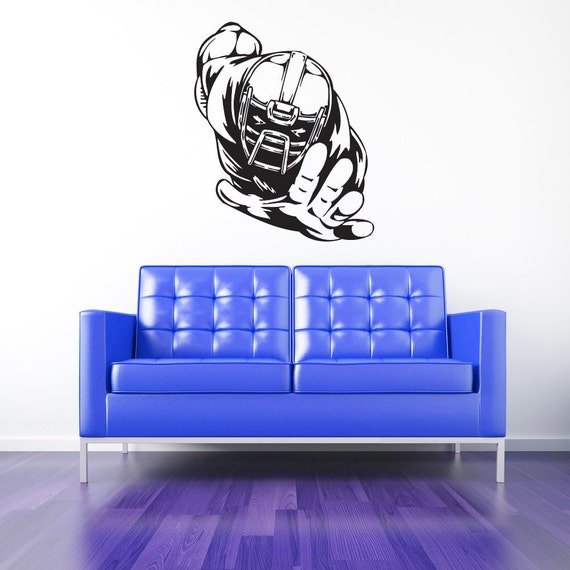 Football Player, Football Decor, Football Decal, Football Decorations, Boys Room Decor, Sports Decor, Sports Decal, Wall Decal, Home Decor