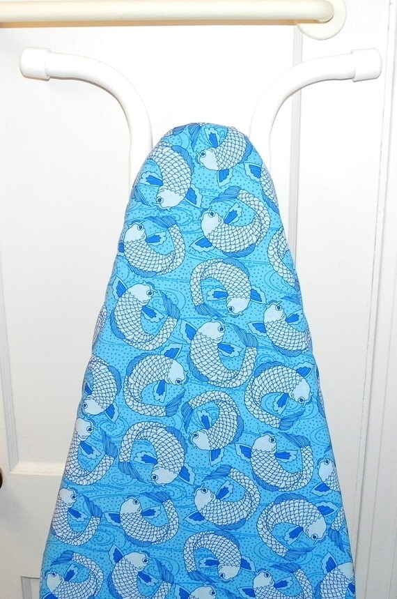 Nautical Ironing Board Cover - Blue Kois