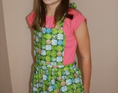 SALE!! Youth Apron with Recycling and Save the Earth