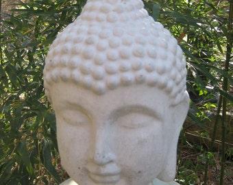 Large Concrete BUDDHA HEAD Statue