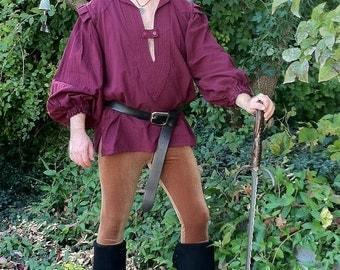 Men's Customizable Velvet Leggings - pick your color, size and length