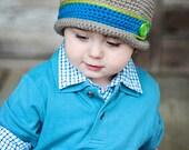 Downtown Boy Hat, bowler hat, toddler, baby, child