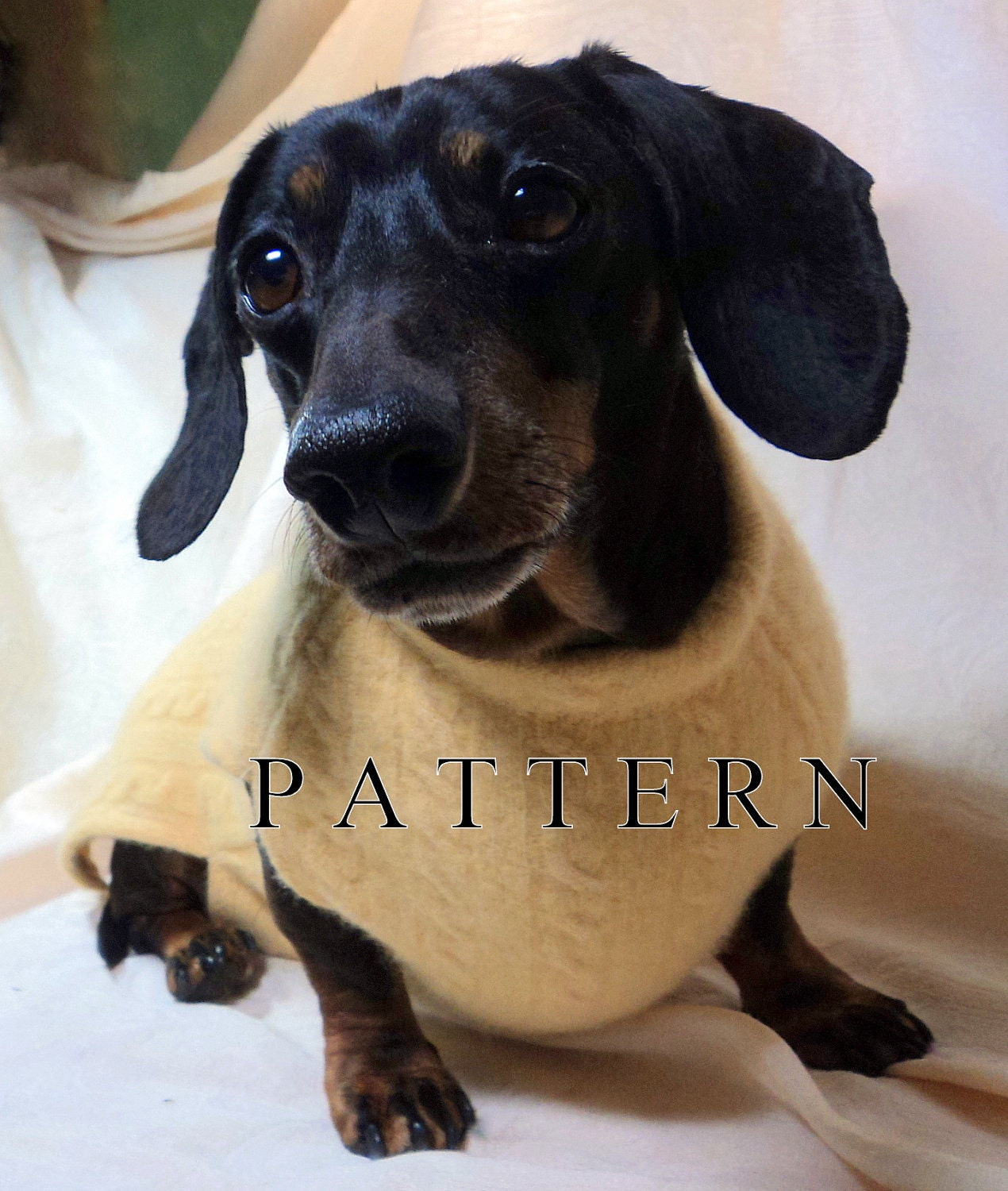 Dachshund Pattern To Sew A Sweater Amp Snood Handmade By