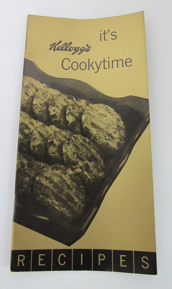 Vintage KELLOGS It's Cookytime Booklet