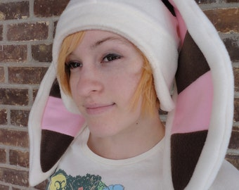 Momo Avatar Hat - Fleece Hat Adult, Teen, Kid - A winter, nerdy, geekery gift!