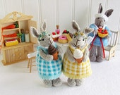 Original Piper Bunny created by Lenore Angela of Rare Rabbits Designs