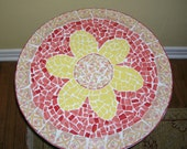 Flower Power Mosaic Table