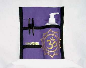 Made to Order - 3 Pocket Massage Holster, RIGHT Hip, Hand Painted in ANY Color with belt