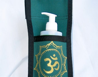 Made To Order - Single Massage Holster with Hand Painted Design and Belt. Any Color, Any Design
