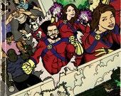 CUSTOM comic book cover - HOWARD