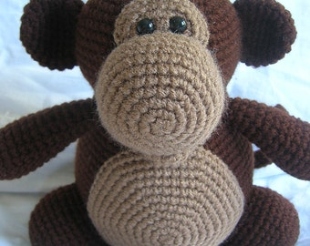 Millie the Monkey - Amigurumi Crochet PATTERN ONLY (PDF)