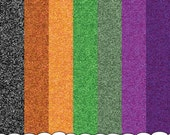 Sparkle Glitter Digital Paper Image Instant Download Halloween Colors