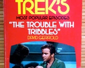 Star Trek - Paperback Novel - The Trouble With Tribbles - 1973