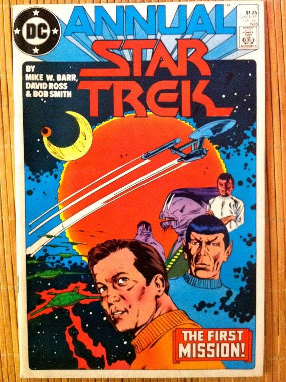 Star Trek Annual DC Comics