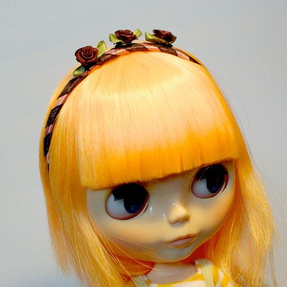 Deep Rose Blythe Headband