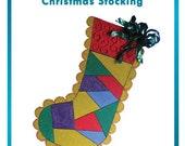 Styrofoam/Polystyrene/EPS Foam Christmas Stocking Pattern - DIY Holiday Home Decor