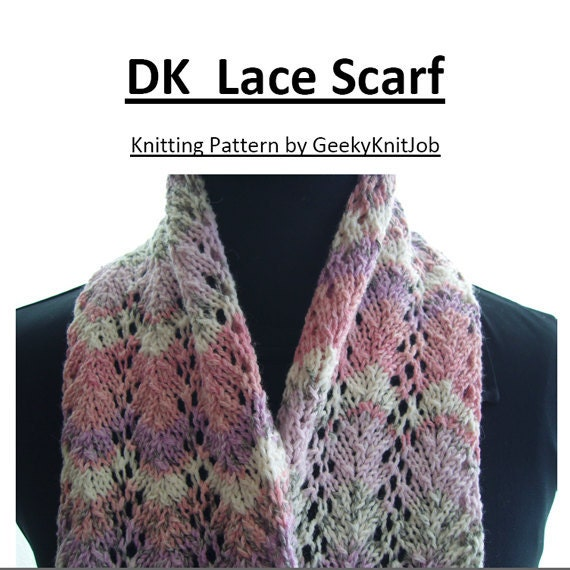 Knitting Pattern Scarf Double Knit : 301 Moved Permanently