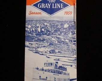 Sightseeing Seattle The Gray Line Season 1959