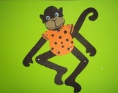 M is for MONKEY craft kit