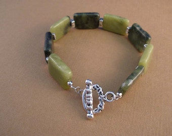 Green Serpentine Bracelet
