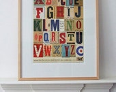 Signals no. 2 (A to Z) limited edition print 420 x 594mm
