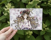 "Art Postcard 4x6 Fantasy Art Illustration ""Persephone Rising"""